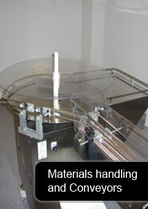 Materials handling and Conveyors